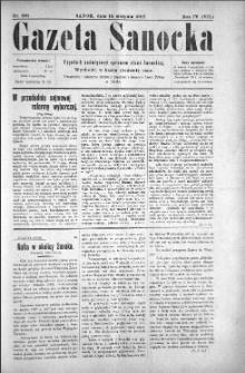 Gazeta Sanocka, 1907, nr 190