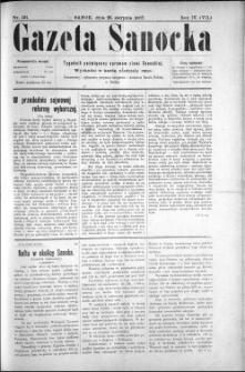 Gazeta Sanocka, 1907, nr 191