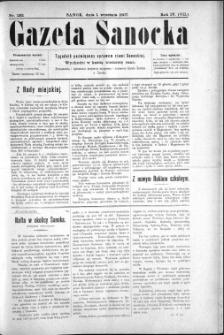 Gazeta Sanocka, 1907, nr 192
