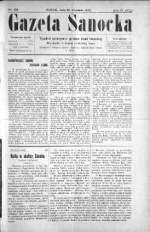 Gazeta Sanocka, 1907, nr 193