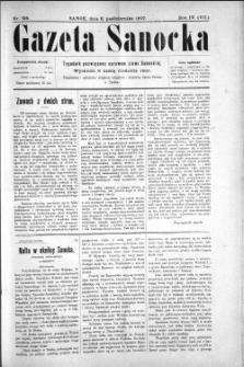 Gazeta Sanocka, 1907, nr 195