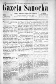 Gazeta Sanocka, 1907, nr 196