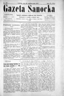 Gazeta Sanocka, 1907, nr 197