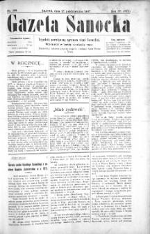 Gazeta Sanocka, 1907, nr 198