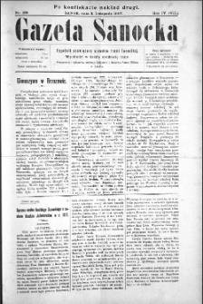 Gazeta Sanocka, 1907, nr 199