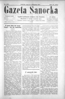 Gazeta Sanocka, 1907, nr 200