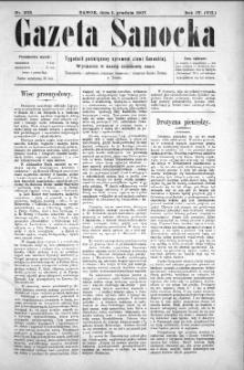 Gazeta Sanocka, 1907, nr 203
