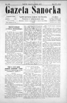 Gazeta Sanocka, 1907, nr 205