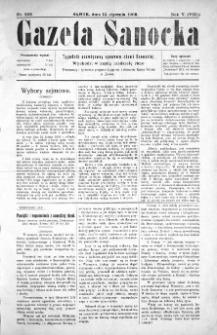Gazeta Sanocka, 1908, nr 208
