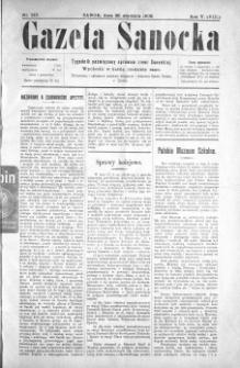 Gazeta Sanocka, 1908, nr 209