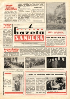 "Gazeta Sanocka ""Autosan"", 1975, nr 11-12"