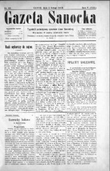 Gazeta Sanocka, 1908, nr 211