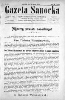 Gazeta Sanocka, 1908, nr 212
