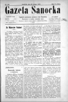 Gazeta Sanocka, 1908, nr 213