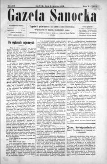 Gazeta Sanocka, 1908, nr 216