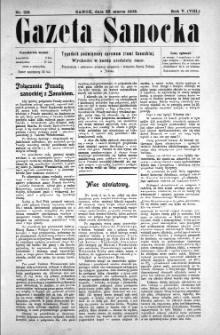 Gazeta Sanocka, 1908, nr 219
