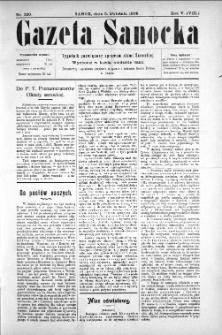 Gazeta Sanocka, 1908, nr 220