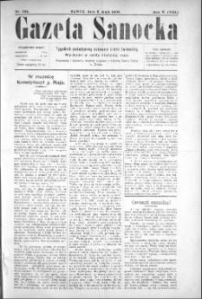 Gazeta Sanocka, 1908, nr 224