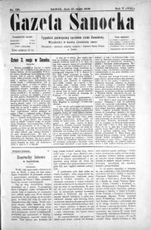 Gazeta Sanocka, 1908, nr 225