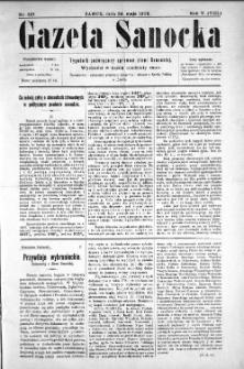 Gazeta Sanocka, 1908, nr 227