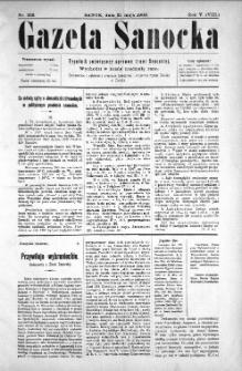 Gazeta Sanocka, 1908, nr 228
