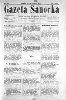 Gazeta Sanocka, 1908, nr 232