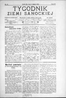 Tygodnik Ziemi Sanockiej, 1913, nr 6