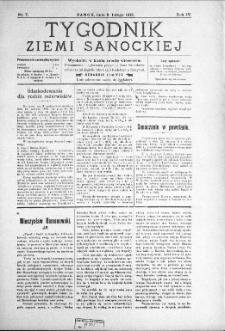 Tygodnik Ziemi Sanockiej, 1913, nr 7