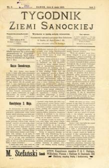 Tygodnik Ziemi Sanockiej, 1910, nr 2