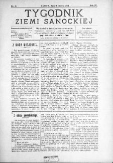 Tygodnik Ziemi Sanockiej, 1913, nr 11