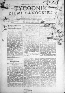 Tygodnik Ziemi Sanockiej, 1913, nr 17