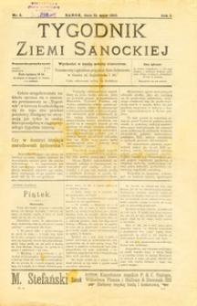 Tygodnik Ziemi Sanockiej, 1910, nr 3