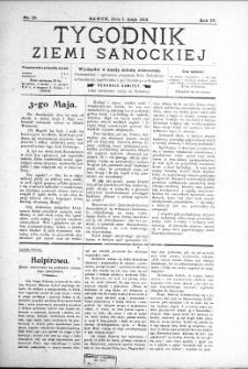 Tygodnik Ziemi Sanockiej, 1913, nr 19