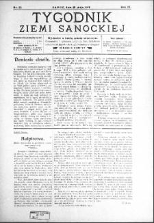Tygodnik Ziemi Sanockiej, 1913, nr 22