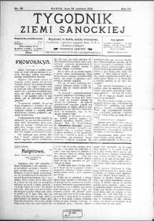 Tygodnik Ziemi Sanockiej, 1913, nr 26