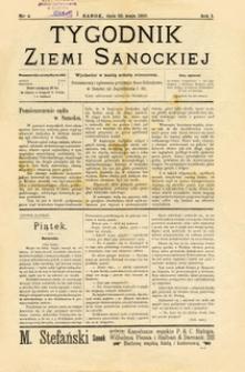 Tygodnik Ziemi Sanockiej, 1910, nr 4