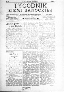 Tygodnik Ziemi Sanockiej, 1913, nr 31