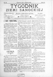 Tygodnik Ziemi Sanockiej, 1913, nr 32
