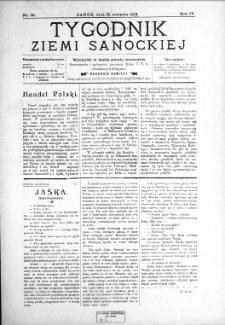 Tygodnik Ziemi Sanockiej, 1913, nr 36