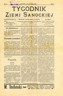 Tygodnik Ziemi Sanockiej, 1910, nr 5