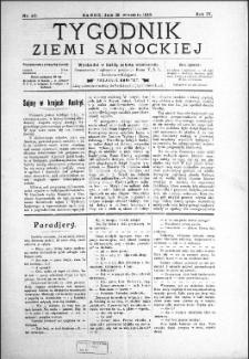 Tygodnik Ziemi Sanockiej, 1913, nr 40