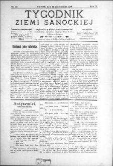 Tygodnik Ziemi Sanockiej, 1913, nr 42