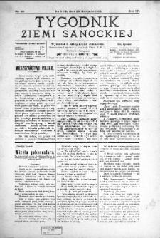 Tygodnik Ziemi Sanockiej, 1913, nr 48