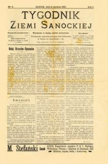 Tygodnik Ziemi Sanockiej, 1910, nr 6