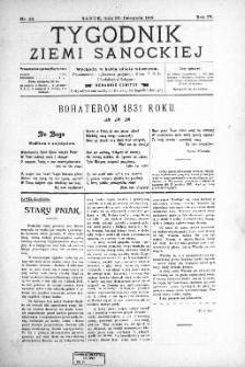 Tygodnik Ziemi Sanockiej, 1913, nr 49