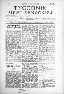 Tygodnik Ziemi Sanockiej, 1913, nr 50