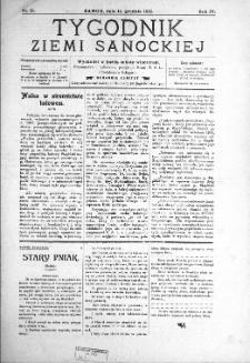 Tygodnik Ziemi Sanockiej, 1913, nr 51