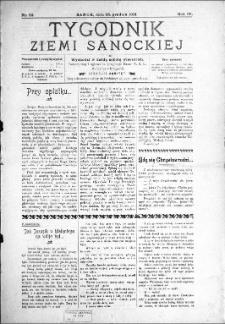 Tygodnik Ziemi Sanockiej, 1913, nr 52