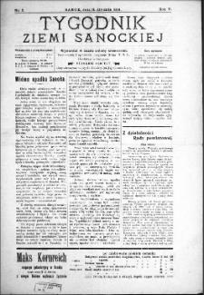Tygodnik Ziemi Sanockiej, 1914, nr 3