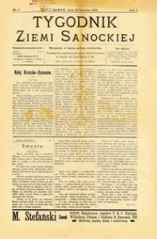 Tygodnik Ziemi Sanockiej, 1910, nr 7